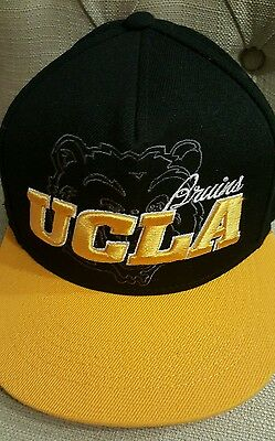 buy popular 9f625 e314a UCLA Bruins NCAA top of the world Adjustable strap snapback hat cap yellow  black