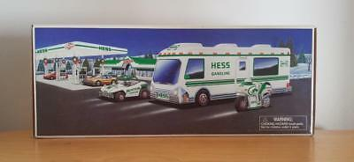 1998 HESS Recreational Van with Dune Buggy and Motorcycle (unused) FREE SHIPPING