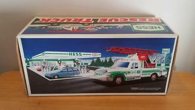1994 HESS Toy Rescue Truck in Original Unopened Box ~ FREE SHIPPING!