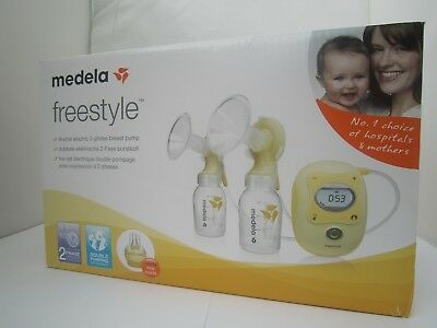 Medela Freestyle Double Electric 2-Phase Breast Pump Calma 042.0013 Brand New
