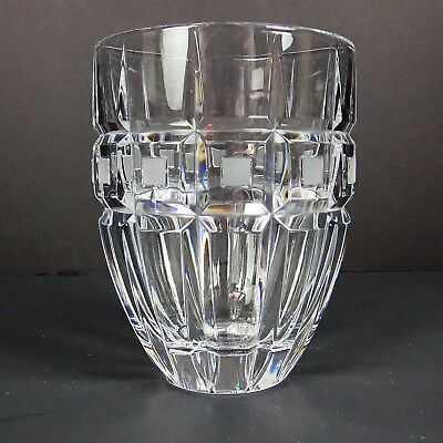 WATERFORD QUADRATA Double Old Fashioned Glass