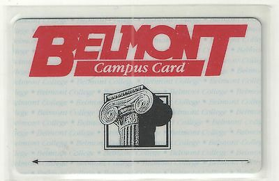 Bell South  Rare 1992 Belmont College Trial Card Mint