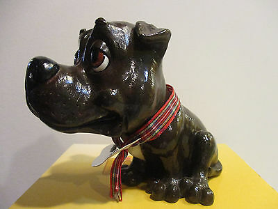 "Little Paws JACK  5""Tall Brown Bull Terrier Staffordshire 331-LP-STAFFY, NEW"