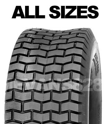 All Tyre Sizes Ride On Lawn Mower Garden Tractor Turf Tyres & Tube sets