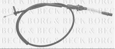 BKA1015 BORG & BECK THROTTLE CABLE fits Ford Cortina 2.0 79-82 NEW O.E SPEC!