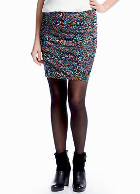 NEW - Queen mum - Side Ruched Maternity Pregnancy Skirt