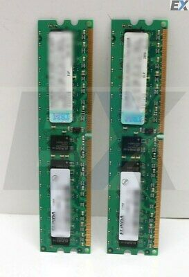 41Y2729 - 2GB kit (2x1GB) PC2-5300) CL5 ECC DDR2 SDRAM DIMM (FRU: 2 x 41Y2728)