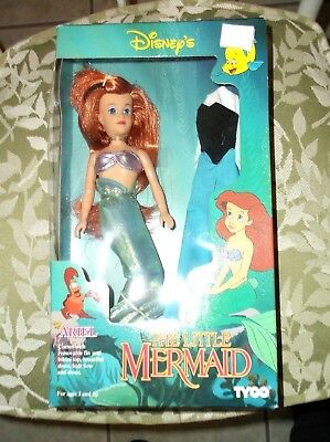 #1800 TYCO - DISNEY ARIEL THE LITTLE MERMAID DOLL - first doll after the movie
