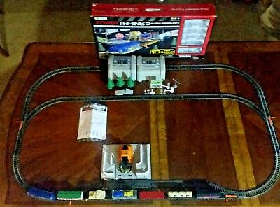 Power Trains Auto Loader City Motorized Train Set With Extra Cars