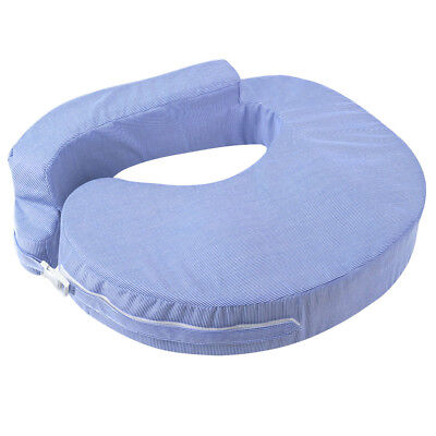 Nursing Breastfeeding Baby Support Foam Breast Feeding Pillow Adjustable - Blue