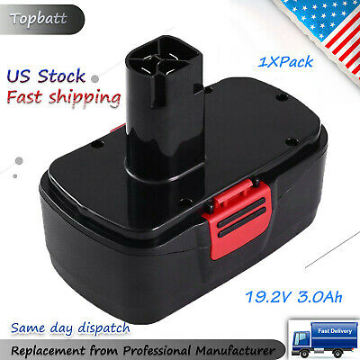 Replace Battery for Craftsman 19.2V 3.0Ah DieHard C3 315.115410 315.11485 Pack