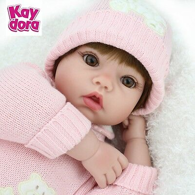 22 inch Realistic Reborn Baby Dolls Newborn Handmade Real Looking Girl Doll Gift