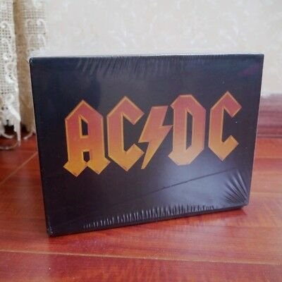 "AC/DC ""The Complete Collection"" 17 CD Full Box Set Studio Recordings Albums"