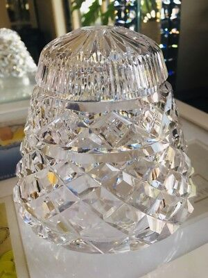 Vintage Crystal Lamp Shade Boudoir Replacement FRENCH CHIC