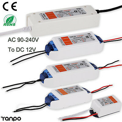 AC 220 -240V To DC 12V LED Driver Adapter Transformer Power Supply For LED Strip