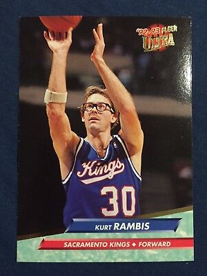 1993 Fleer NBA Basketball Card #351 Kurt Rambis Sacramento Kings