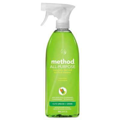 Method® All Surface Cleaner, Cucumber, 28 oz Bottle, 8/Carton 817939000021