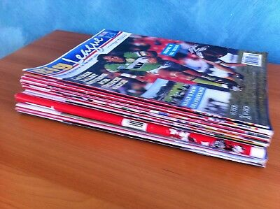 BULK LOT 12 x BIG  LEAGUE MAGAZINES EARLY TO MID 1990s