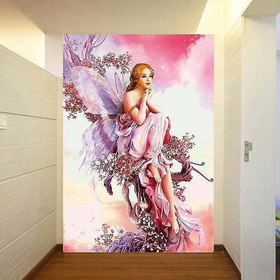 5D Fairy Butterfly Diamond Embroidery Painting Cross Stitch DIY Home Deco oorr