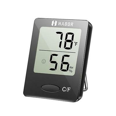 Habor Hygrometer Thermometer Digital Indoor Humidity Monitor Gauge humidity...