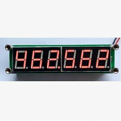 High Accuracy 1MHz~1000MHz Digital LED Frequency Counter Measurement Red