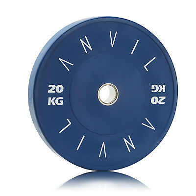 Premium Gym Bumper Weight Plate - 20kg Blue | Free Melbourne Pickup Available!