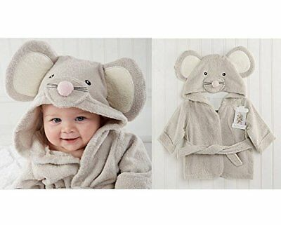 Infant Shower Bathrobe Hooded Baby Bath Towels Cotton Face Wrap baby shower gift