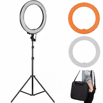 Dimmable Photo Video Ring Light Ring Light Lamp + Stand LED SMD Ring Ligh YYJJ