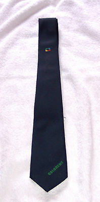 Tie - Colorent (German) - 1980's - Polyester - unused - excellent - notes/pics A