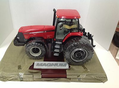 Ertl 1/16 Case Ih International Serial Numbered Mx270 Le Tractor With Wood Base!