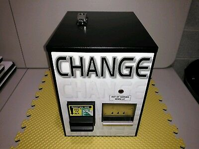 STANDARD CHANGE MAKERS MCM-100 DOLLAR BILL CHANGER / Accepts New $1, 5, 10, 20