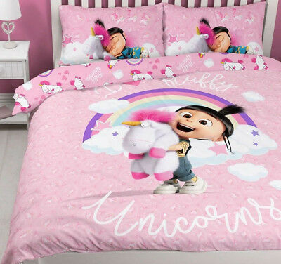 I Love Fluffy Unicorns Double Duvet