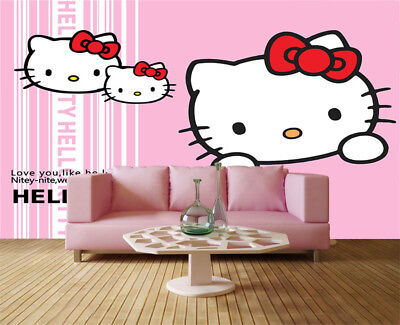 Smart Sober Cats 3D Full Wall Mural Photo Wallpaper Printing Home Kids Decor