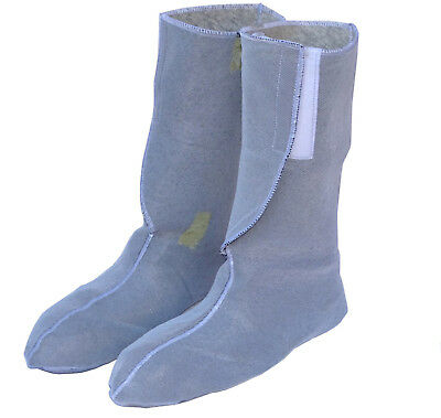 French Army NBC Boot Inserts Protective Wellington Socks Welly Liner 1980s NOS