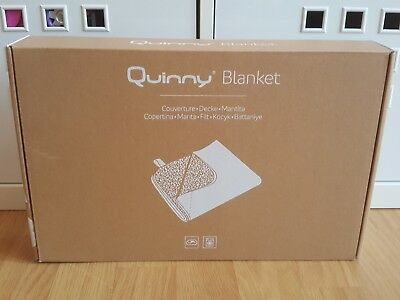 Ex-display Quinny Zapp / Zapp Flex / Flex Plus Grey Graphite Blanket