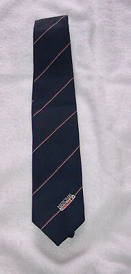 Tie - National Telebank - 1980's - Polyester - unused - excellent - notes/pics