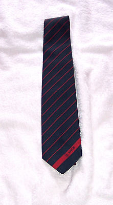 Tie - BACS (Banking) - 1980's - Polyester - unused - excellent - notes/pics
