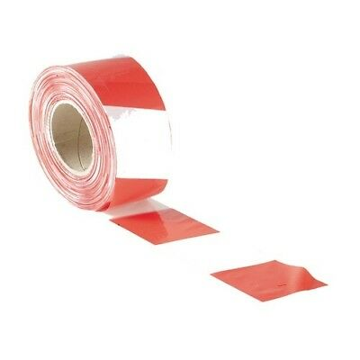 Faithfull FAITAPEBARRW Barrier Tape 70mm x 500m Red & White