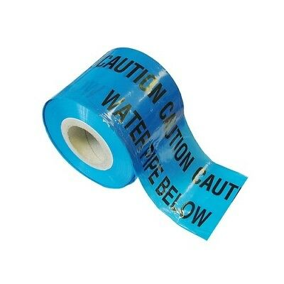 Faithfull FAITAPEUWAT Warning Tape 365m Water