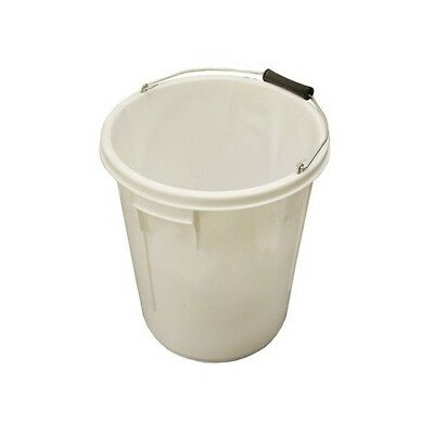 Faithfull FAI5GBUCKET 5 Gallon 25 litre Bucket - White