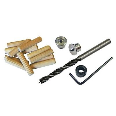 Faithfull FAIDOWKIT6 Dowel Kit 6mm Drill & Points