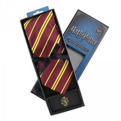 Harry Potter coffret cravate et badge Gryffondor necktie pin Deluxe Set 600638