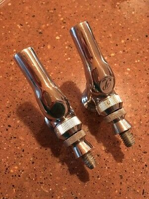 2 Perlick 525ss Draft Beer Faucets, New O-rings.