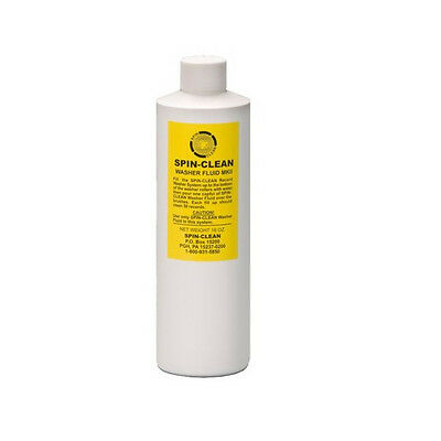 Spin Clean Vinyl Cleaner Cleaning Fluid 16oz/470ml Bottle New