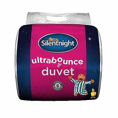 New Silentnight Luxury Ultrabounce Quilt / Duvet - 13.5 Tog - Double Bed Size