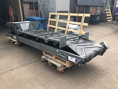 Conveyor System 600mm wide x 12 meters long NEW Builds Made from stock with belt