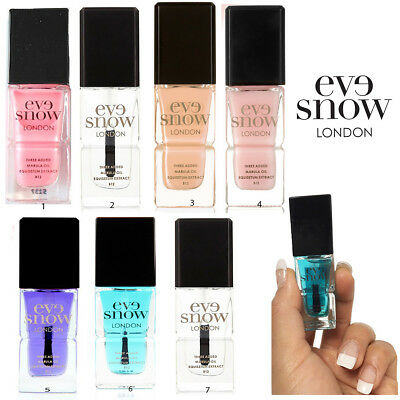 Nail Polish Treatment Eve Snow Varnish Gel Coat Quick Dry Anti Age Cuticle Oil