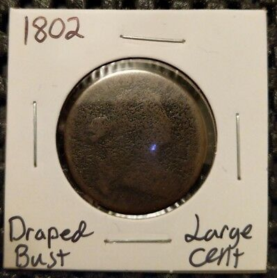 1802 Draped Bust Large Cent!