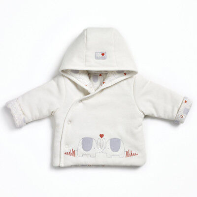 Natures purest My 1st Friend Organic Cotton Padded Jacket 3-6 Months  (0188B)