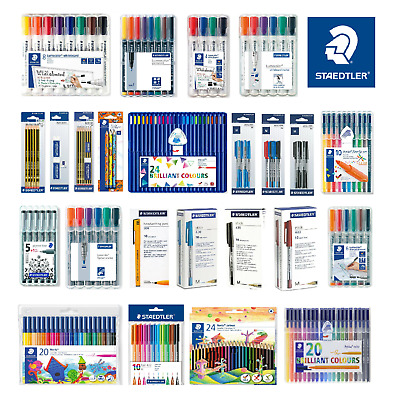 STAEDTLER Whiteboard Markers,Colouring Pencils,Triplus Pen- FAST & FREE DELIVERY
